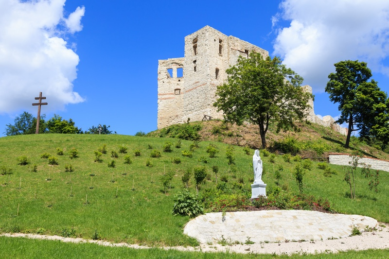 Ruiny Zamku w Kazimierzu